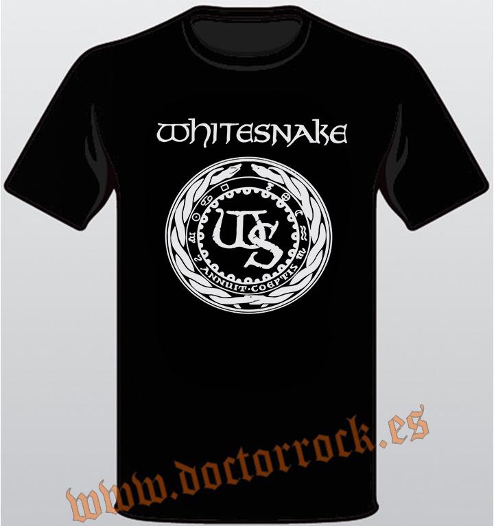 8ddddc41e Camisetas de Grupos de Rock - Camiseta Whitesnake