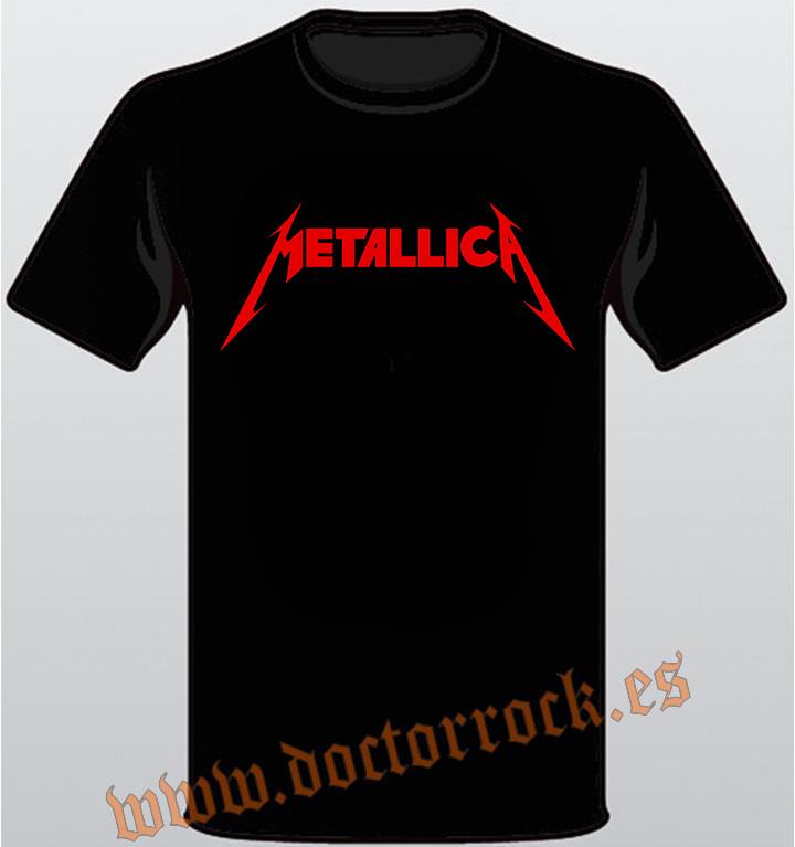 c7c036a2e93a7 Camisetas de Metallica - Camiseta Metallica logo