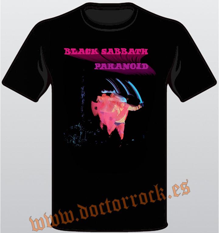 1693da94d03b8 Camiseta Black Sabbath Paranoid - DOCTOR ROCK