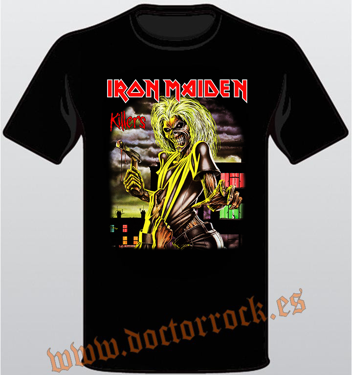 Camiseta Iron Maiden Killers - DOCTOR ROCK 1d41ab494e41d