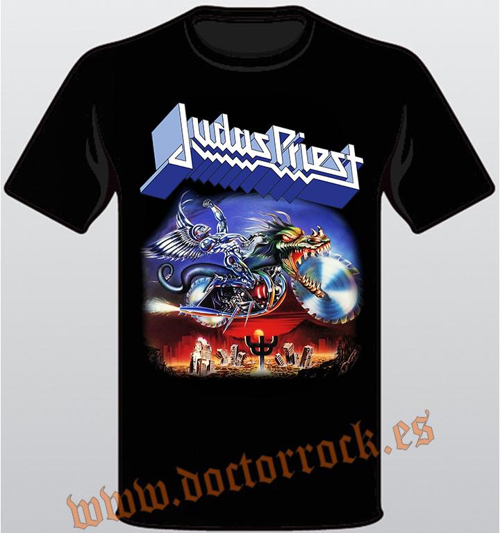 79d14898bdb10 Camiseta Judas Priest Painkiller - DOCTOR ROCK