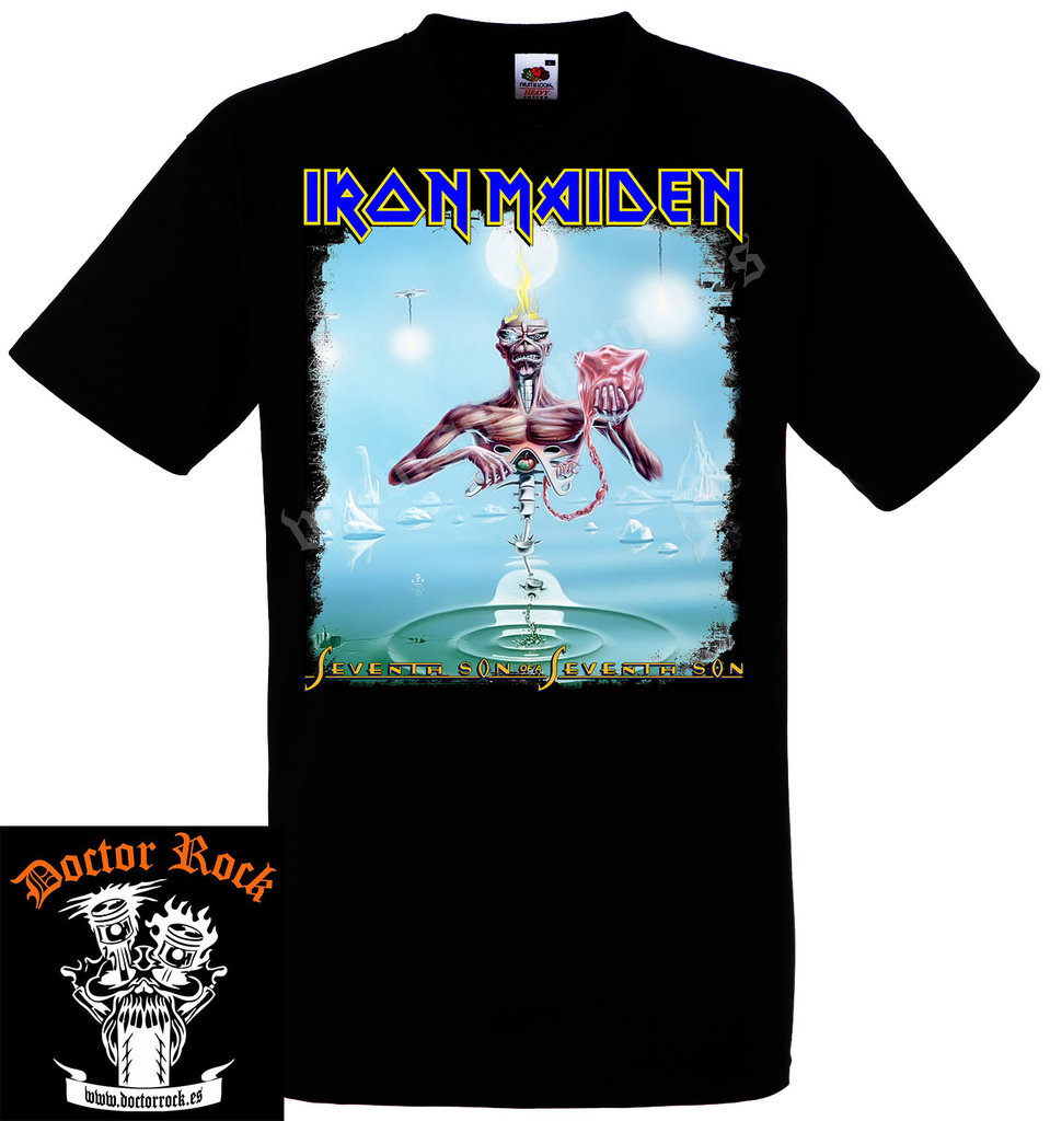 0fd9bf1dde Camiseta Iron Maiden Seventh Son Of A Seventh Son - DOCTOR ROCK