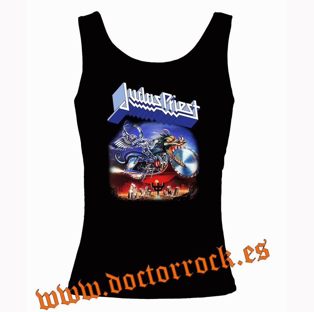 Ropa - Collectors Mine - Camiseta de Judas Priest Hell
