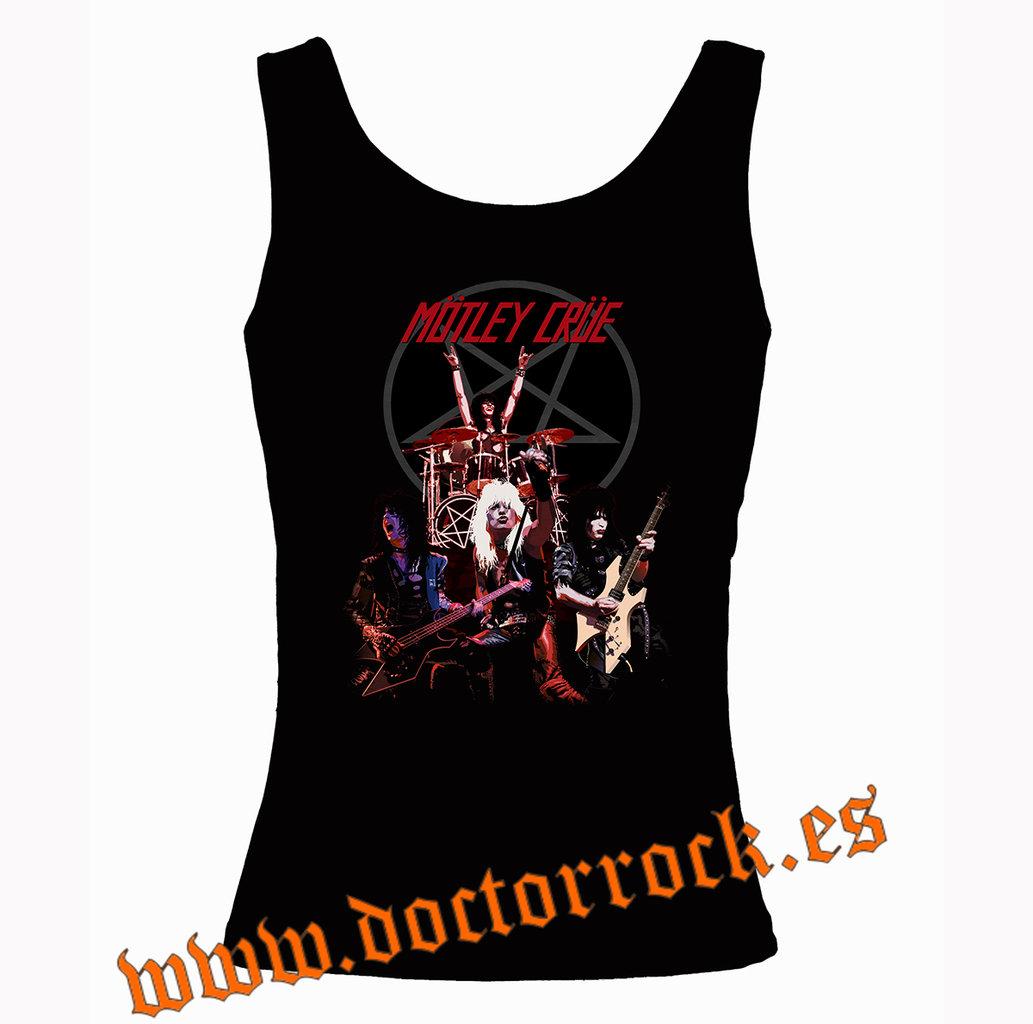 Live Motley Shout Tirantes Crue Camiseta ARqS4Lc3j5