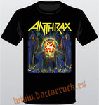 Camiseta Anthrax For All Kings