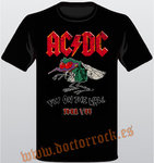 Camiseta AC/DC Fly On The Wall Tour 85 Vintage