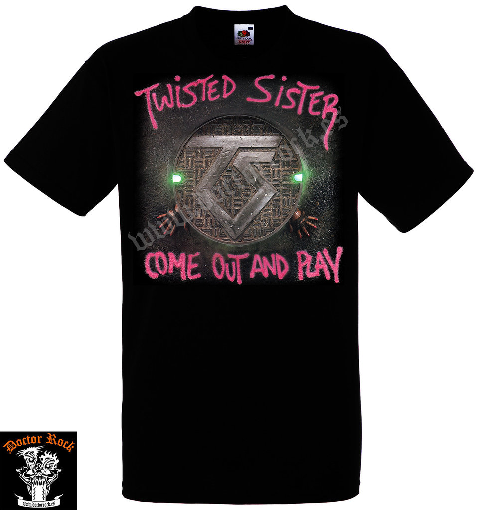 Camiseta Twisted Sister Come Out And Play
