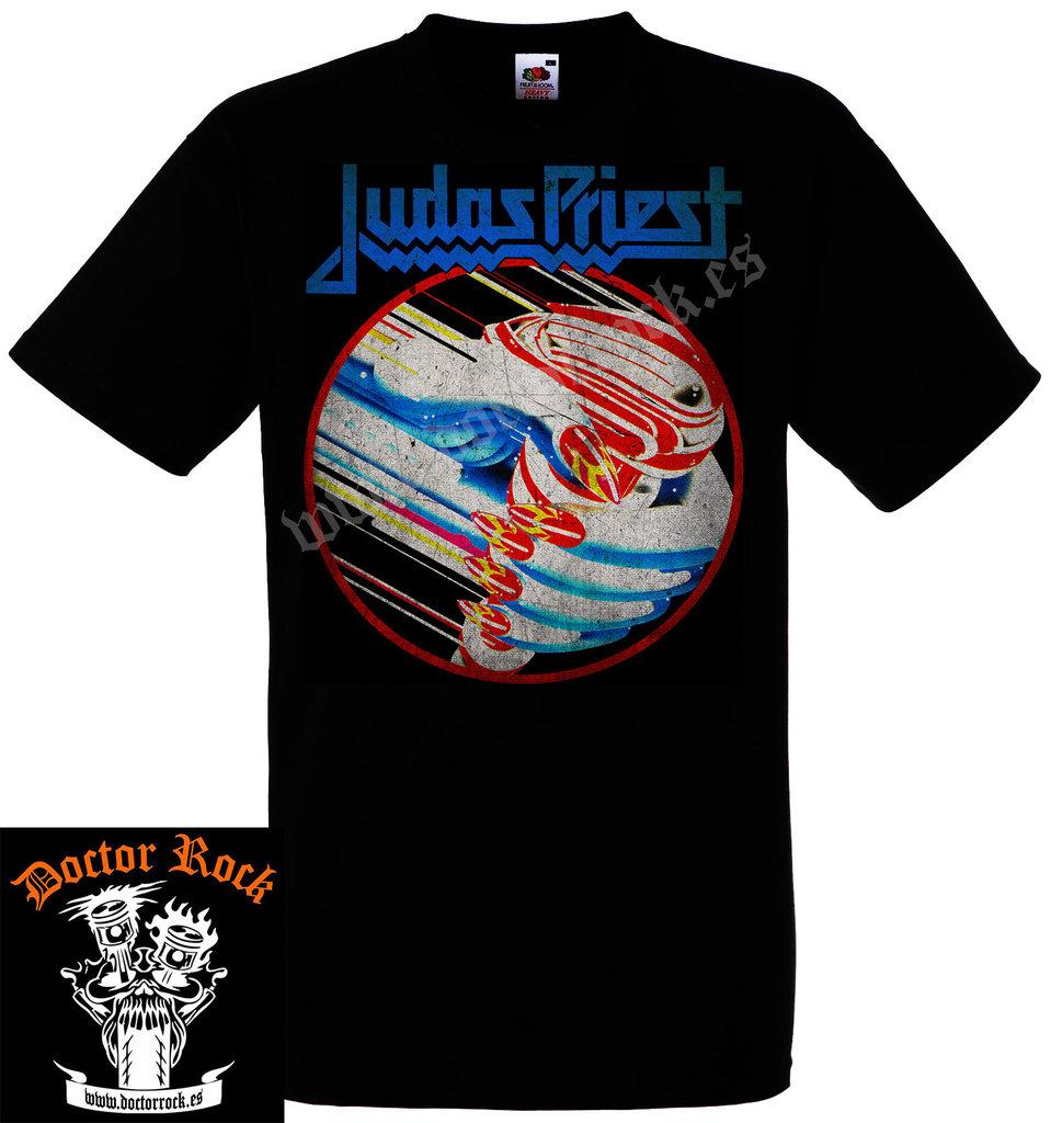 Camiseta Judas Priest British Steel - Metal Online