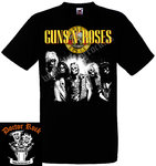 Camiseta Guns And Roses Skulls & Roses