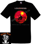 Camiseta Loudness Soldier Of Fortune