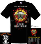 Camiseta Guns And Roses Bilbao 2017