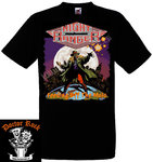 Camiseta Night Ranger Feeding Off The Mojo