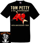 Camiseta Tom Petty 40th Anniversary Tour