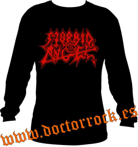 Camiseta Morbid angel manga larga