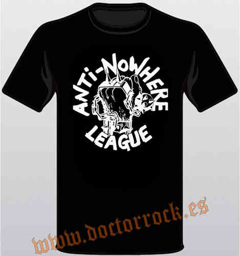 Camiseta Anti-Nowhere League