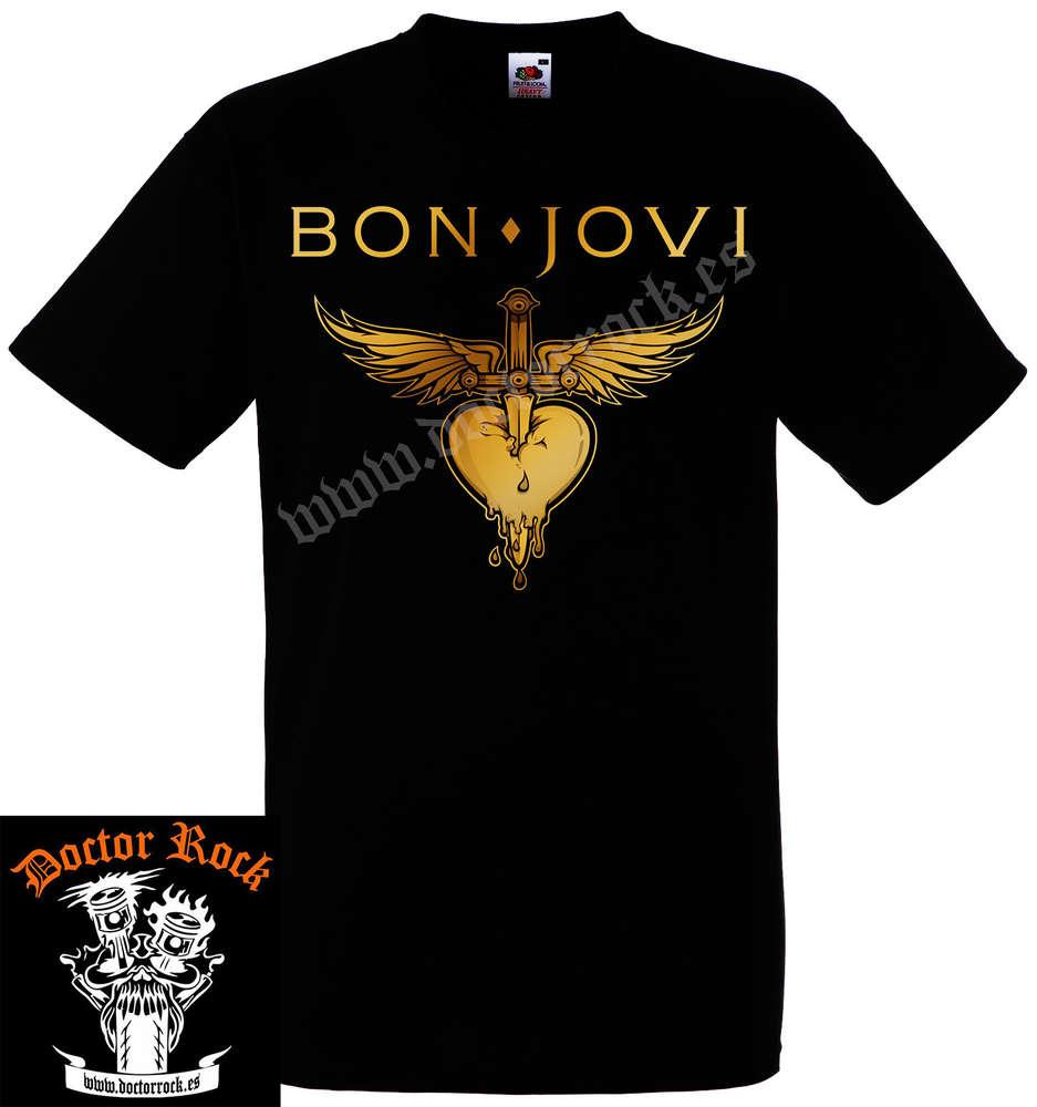 1f869a962 Camiseta Bon jovi - DOCTOR ROCK