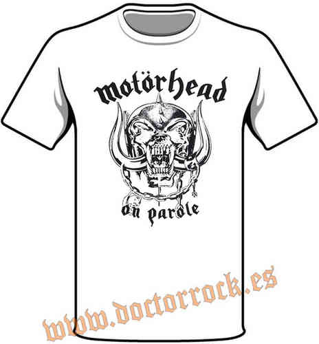 Camiseta Motorhead On Parole