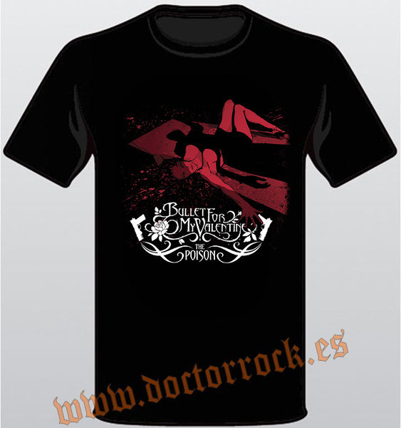 Camiseta Bullet For My Valentine The Poison
