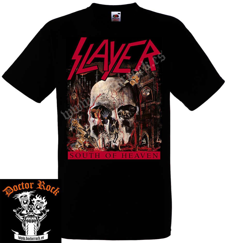 ad3718e28 Camiseta Slayer South Of Heaven - DOCTOR ROCK