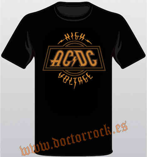Camiseta AC/DC High Voltage