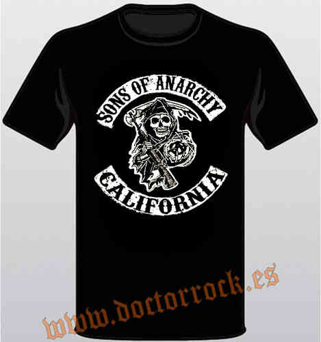 Camiseta Sons Of Anarchy California