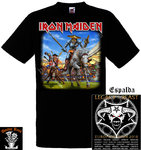 Camiseta Iron Maiden (Quijote) Spain 2018