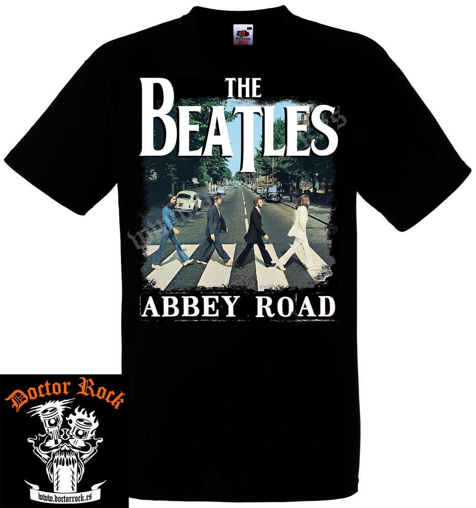 376b5e54b Camiseta The Beatles Abbey Road - DOCTOR ROCK