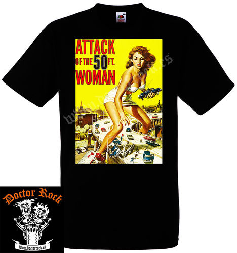 Camiseta Attack Of The 50 Ft Woman