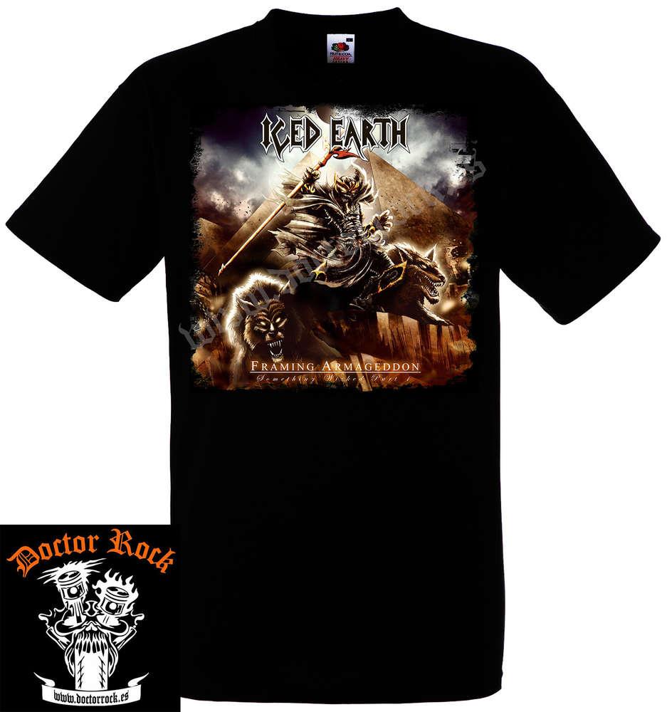 Camiseta Iced Earth Framing Armageddon - DOCTOR ROCK