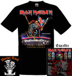 Camiseta Iron Maiden Madrid 2018