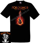 Camiseta Foreigner The Flame Still Burns