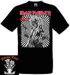 Camiseta Iron Maiden Killers (Black/White)