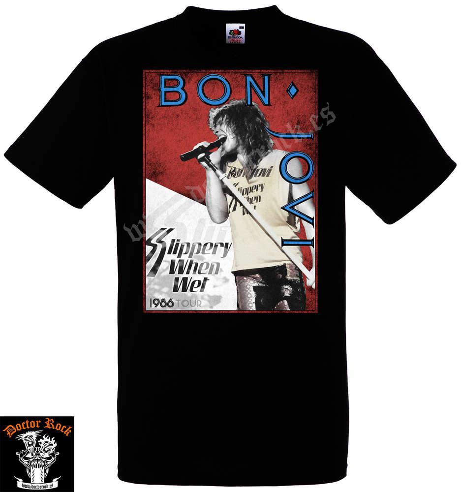 550345c07 Camiseta Bon Jovi 1986 Tour - DOCTOR ROCK