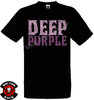 Camiseta Deep Purple Distressed Logo
